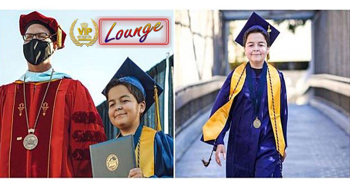 Kisah remaja 13 tahun raih 4 gelar sarjana