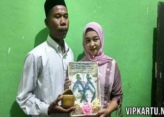 Viral Pernikahan Model Cantik Mahar Sandal Jepit